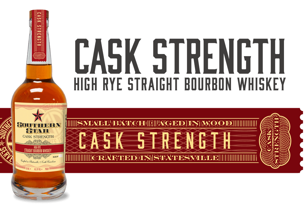 Southern Star Cask Strength High-Rye Straight Bourbon Whiskey
