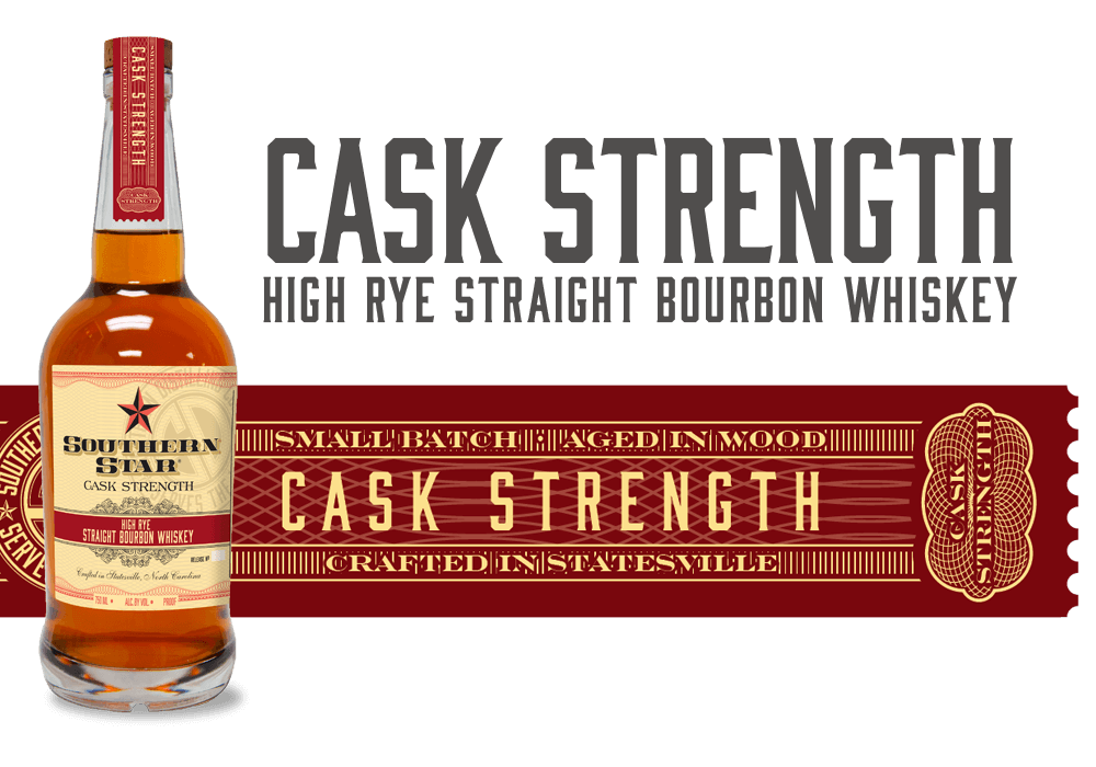 Southern Star Cask Strength: High Rye Straight Bourbon Whiskey