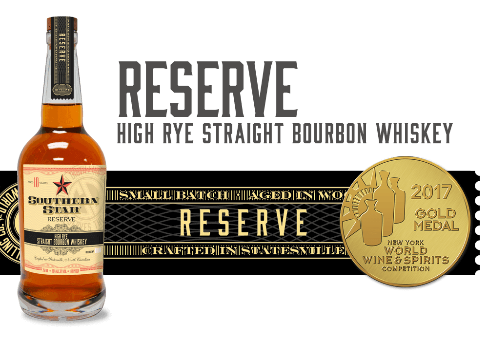 Southern Star Reserve: High Rye Straight Bourbon Whiskey