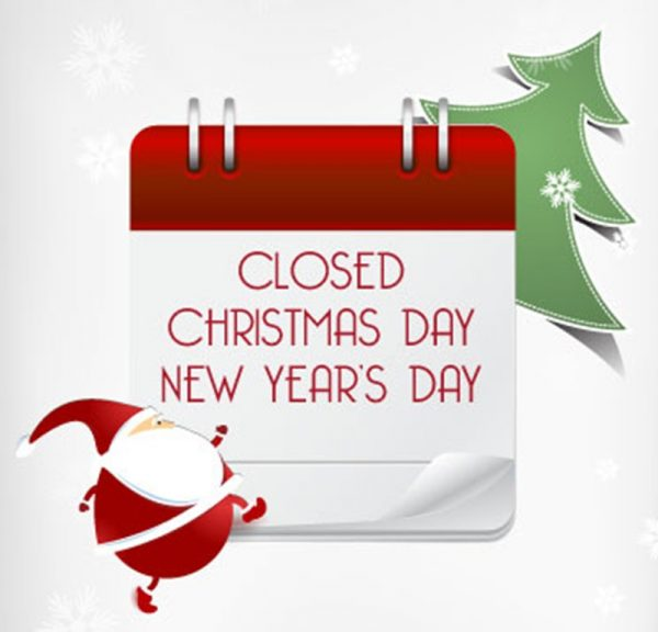 Christmas Hours.Holiday Hours Closed Christmas Day And New Year S Day