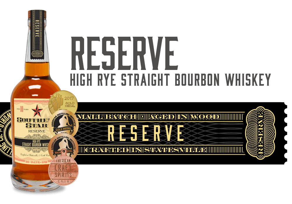 Southern Star 10-Year Reserve High-Rye Straight Bourbon Whiskey
