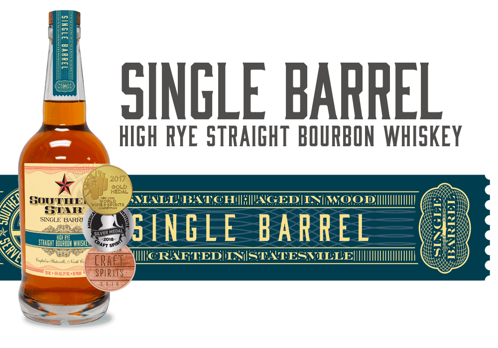 Southern Star Single Barrel High-Rye Straight Bourbon Whiskey