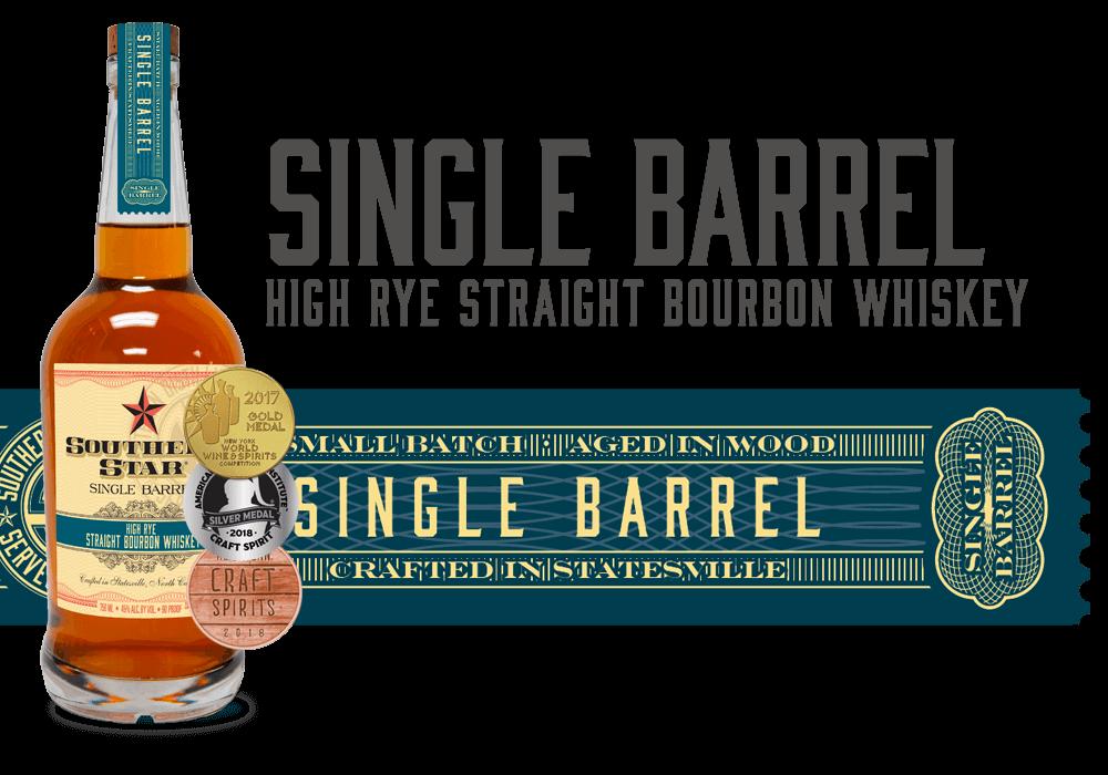 Southern Star Single Barrel High-Rye Straight Bourbon Whiskey