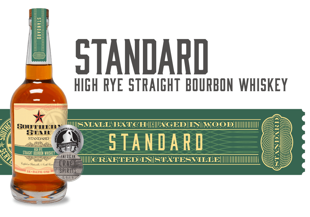 Southern Star Standard High-Rye Straight Bourbon Whiskey